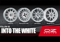 Gama de jante OZ si Sparco Wheels reaprinde traditia albului competitional